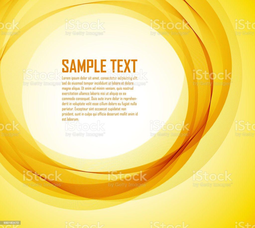 Abstract Orange Linien Stock Vektor Art Und Mehr Bilder Von