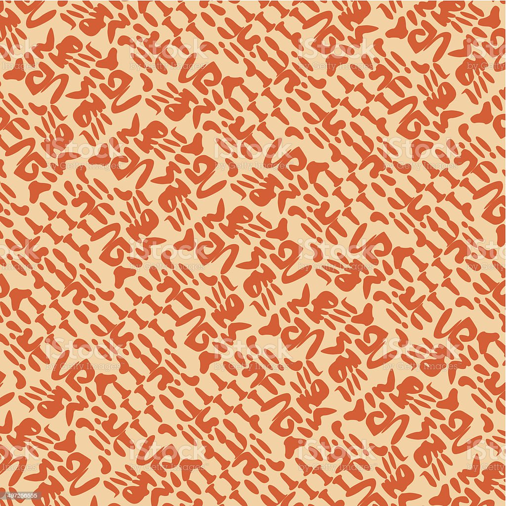 abstract orange pattern background royalty-free stock vector art