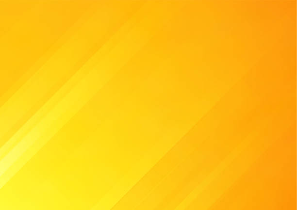 abstract orange vector background with stripes, can be used for cover design, poster, advertising. - yellow stock illustrations