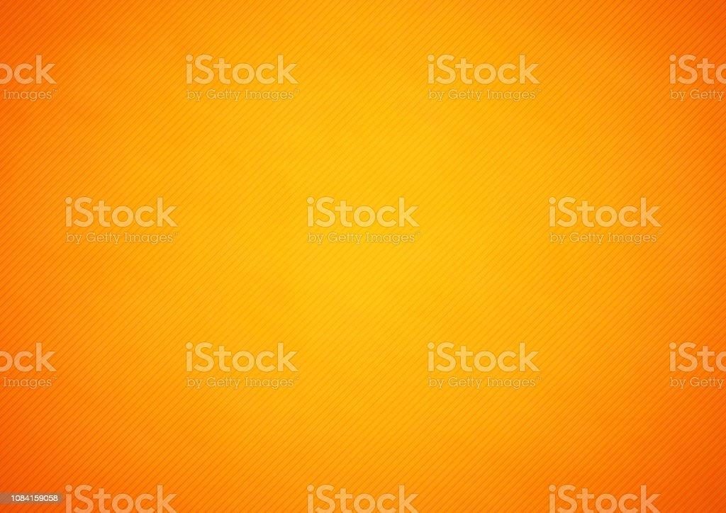 Orange Abstract Vector Hintergrund mit Streifen - Lizenzfrei Abstrakt Vektorgrafik