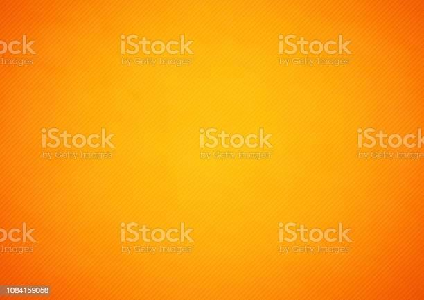 Orange Abstract Vector Hintergrund Mit Streifen Stock Vektor Art und mehr Bilder von Abstrakt