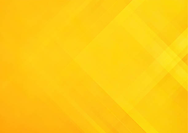 줄무늬와 오렌지 추상 벡터 배경 - 노랑 stock illustrations