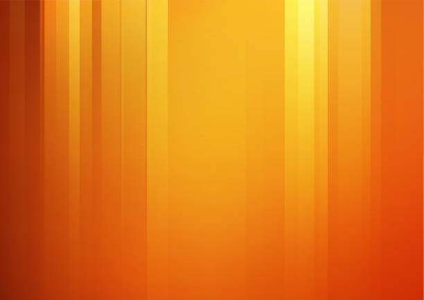 abstract orange vector background with stripes - orange color stock illustrations