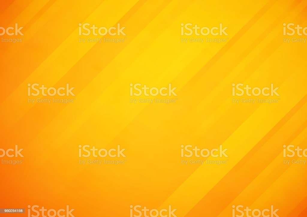 Abstract orange vector background with stripes vector art illustration