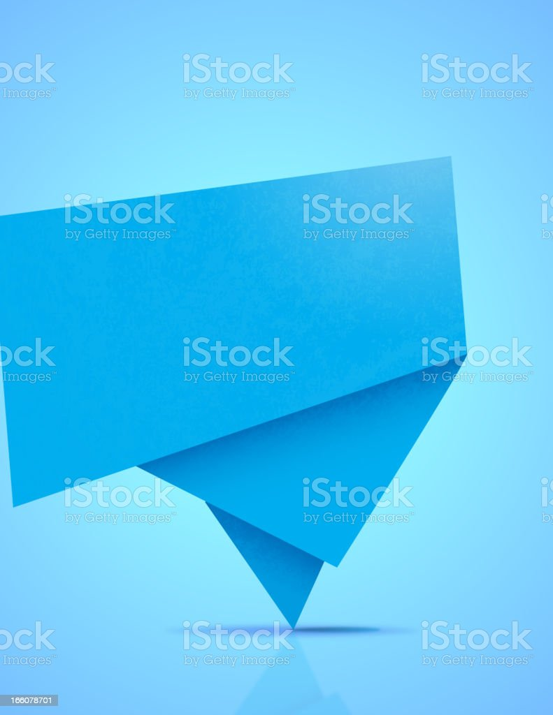Abstract Origami Banner royalty-free abstract origami banner stock vector art & more images of abstract