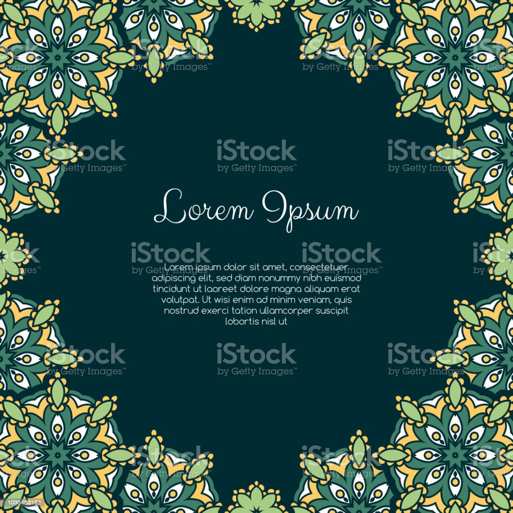 Abstract Ornamental Background Stock Illustration - Download Image