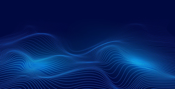 Abstract Particle Technology Background
