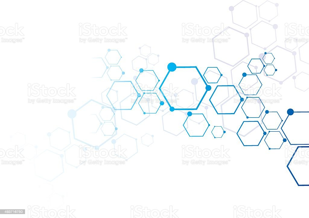 Abstract particles connection royalty-free abstract particles connection stock illustration - download image now