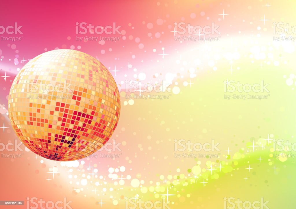 abstract party Background royalty-free stock vector art