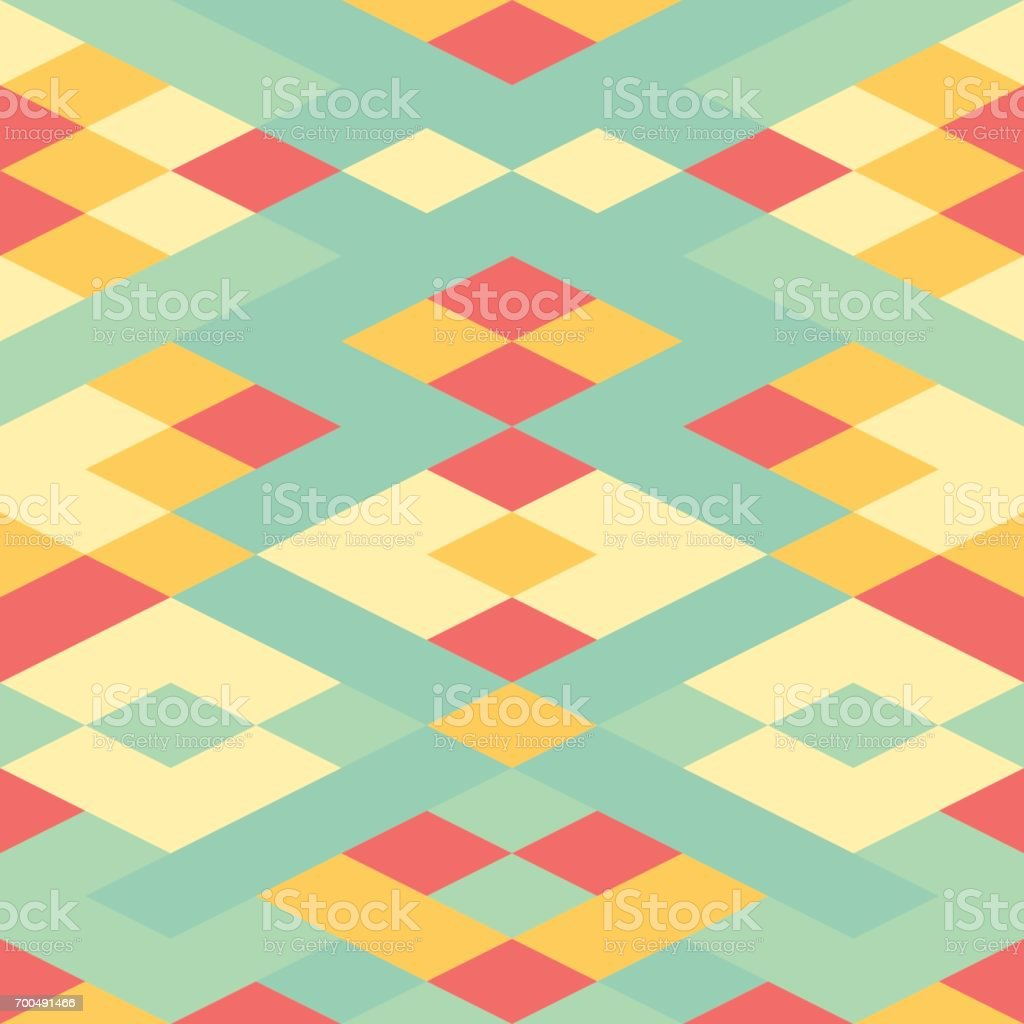 abstract pastel color tone art deco geometric patterns background