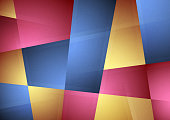 Abstract multi-colored geometric vector background. All elements can be easily removed if needed. Easy сhange the сolor.