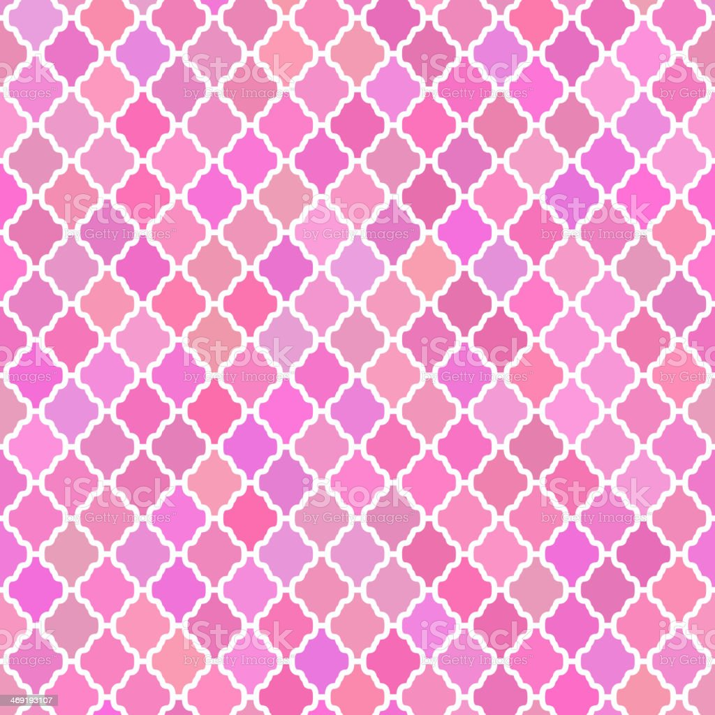Abstract pattern background in pink colours vector art illustration