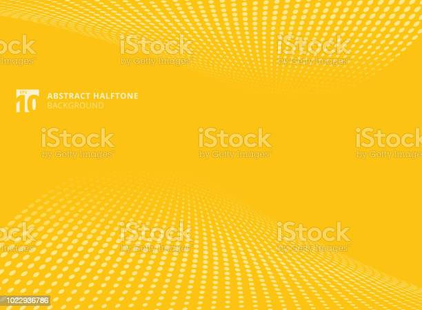 Abstract pattern dots yellow color halftone perspective background vector id1022936786?b=1&k=6&m=1022936786&s=612x612&h=bxriqpfblbetfhc8bwzxrkabtcydfy2w7uqe0upfyp0=