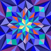 Abstract pattern for design. Retro chevron vector background. Geometric decorative pattern.