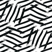 Abstract pattern for zebra stripes
