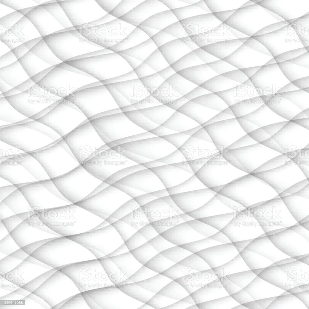 원활한 추상 패턴입니다 화이트 텍스처입니다 웨이브 물결 모양 현대 기하학적 흰색 배경입니다 인테리어