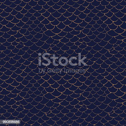 abstract pattern with stylized sketch pattern, seamless vector pattern on blue background
