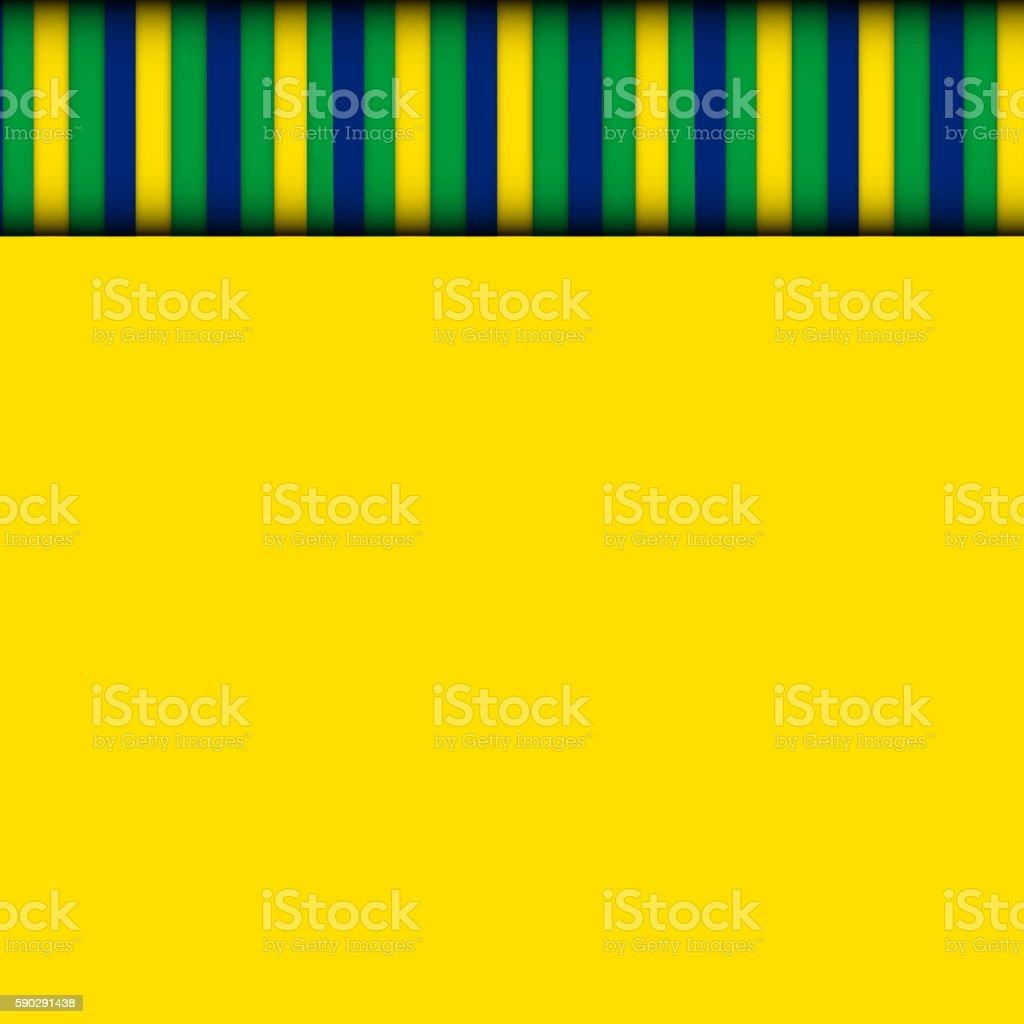 Abstract patterns of color flag  Brazil. Vector Illustration. royaltyfri abstract patterns of color flag brazil vector illustration-vektorgrafik och fler bilder på bildbakgrund