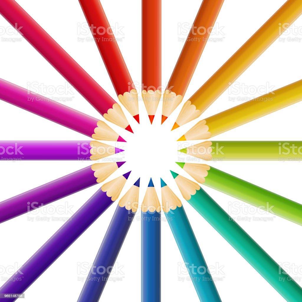 Abstract Pencil Background Vector Illustration abstract pencil background vector illustration - stockowe grafiki wektorowe i więcej obrazów białoruś royalty-free
