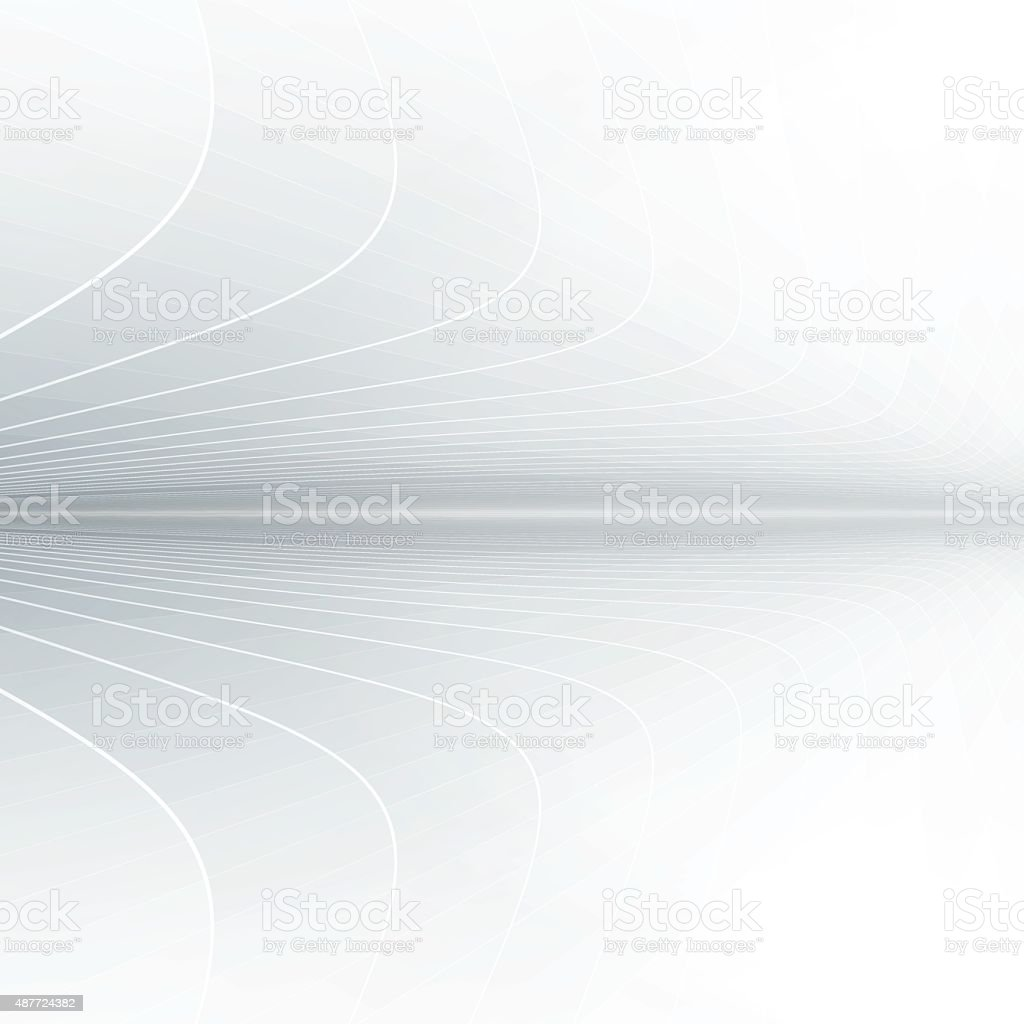 Abstract perspective background with gray tones vector art illustration