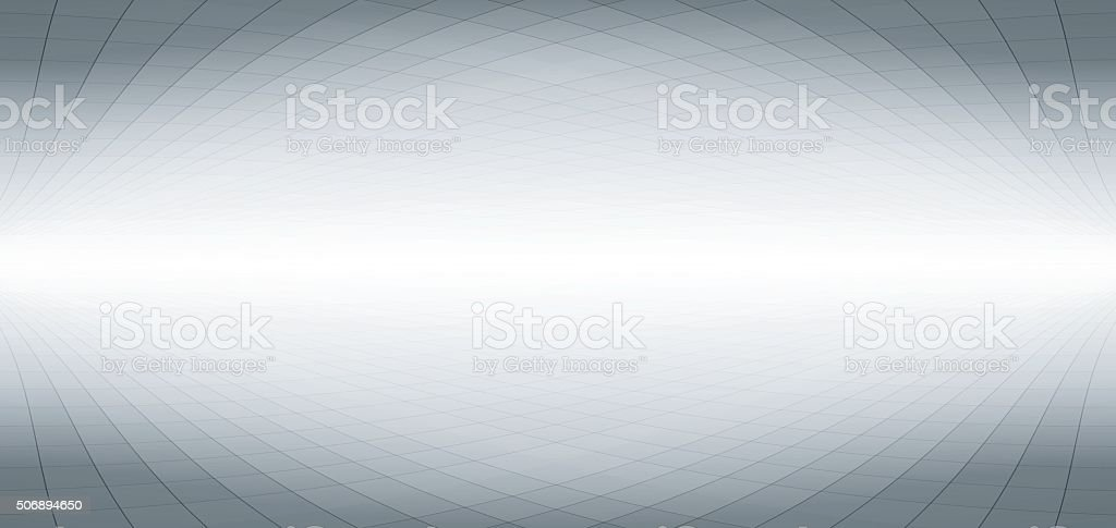 Abstract perspective gray banner design vector art illustration