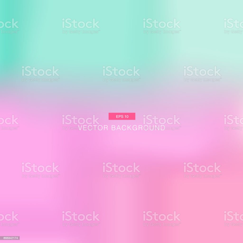 Abstract pink and blue pastel blurred vector wallpaper vector art illustration