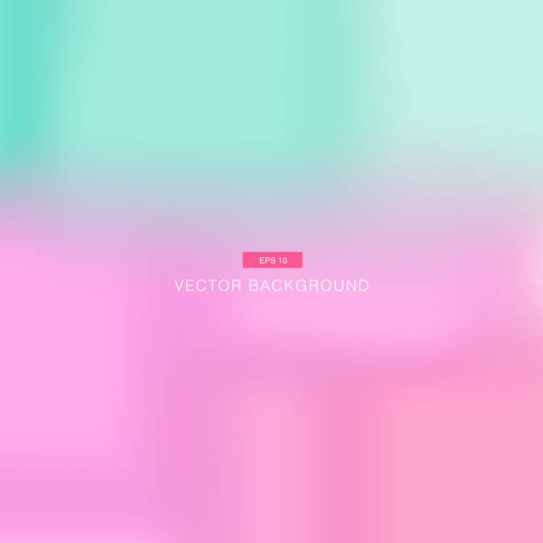 Abstract pink and blue pastel blurred vector wallpaper Abstract pink and blue pastel blurred vector background wallpaper candy backgrounds stock illustrations