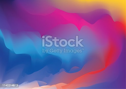 Abstract pink and violet blur color gradient background for graphic design. Vector illustration.