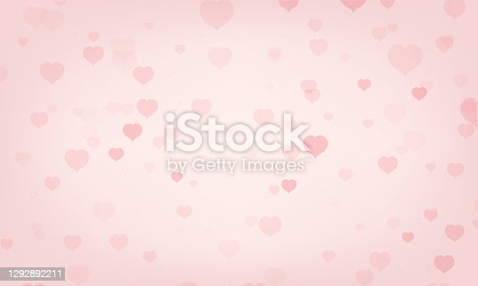 istock Abstract pink background, brochure or poster template. Valentines day, womans day or other event background. 1292892211