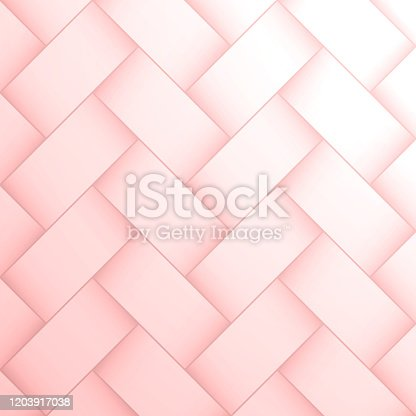 Modern and trendy abstract background. Geometric texture with seamless patterns for your design (colors used: pink, white). Vector Illustration (EPS10, well layered and grouped), format (1:1). Easy to edit, manipulate, resize or colorize.