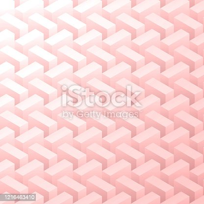 Abstract pink background - Geometric texture