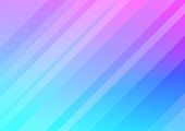 Modern warm pink and blue smooth abstract vector background