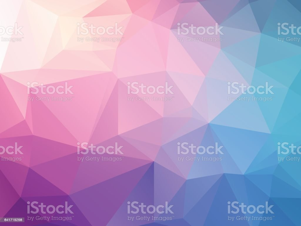 abstract pink blue background vector art illustration