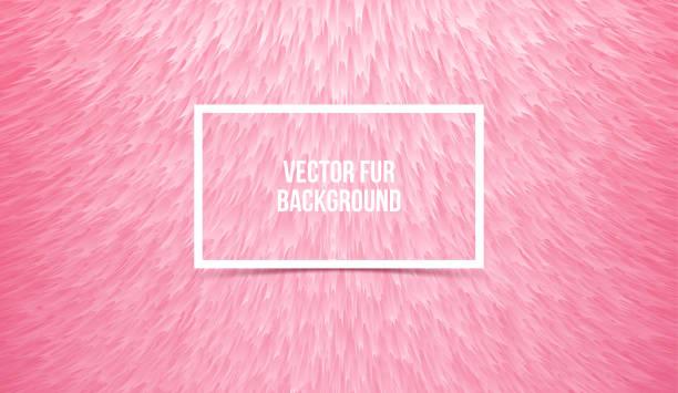 抽象的なのピンクの毛皮で覆われた背景、フェイクファー合成。ベクトル テクスチャ - 毛皮のテクスチャ点のイラスト素材/クリップアート素材/マンガ素材/アイコン素材
