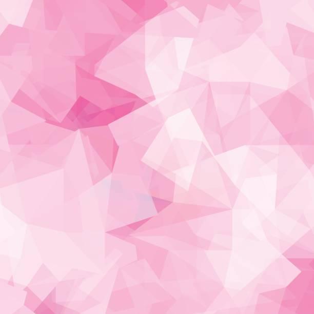 bildbanksillustrationer, clip art samt tecknat material och ikoner med abstrakt rosa geometrisk bakgrund - rosa bakgrund