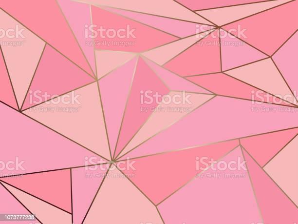 Abstract pink polygon artistic geometric with gold line background vector id1073777238?b=1&k=6&m=1073777238&s=612x612&h=xboluvux1ftkaztk3ioqw mlmtaaljpertk2gamj7ca=