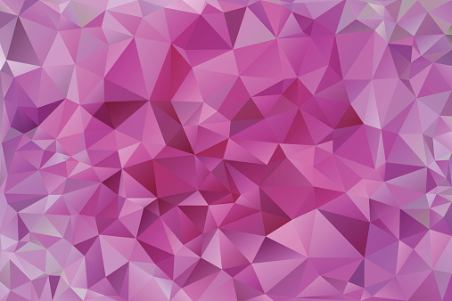 abstract pink polygonal  background
