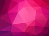 modern style abstract pink polygonal pattern