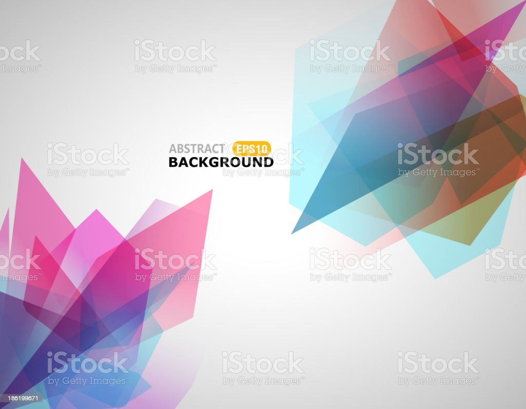 abstract pink transparency background vector art illustration