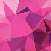 abstract pink triangle pattern background for design.(ai eps10 with transparency effect)