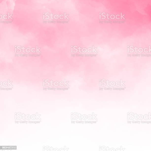 Abstract pink watercolor textured background, Vector illustration