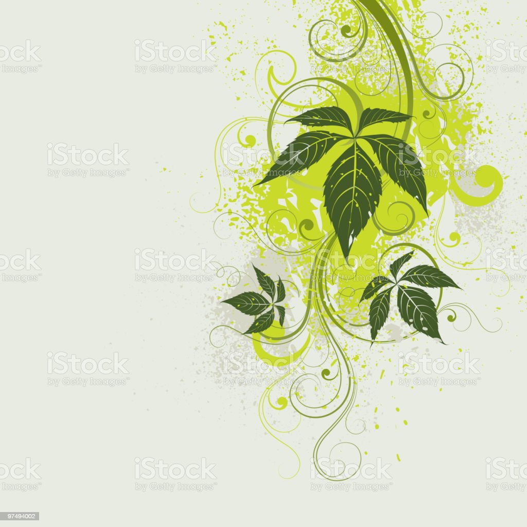 Abstract plant royalty-free abstract plant stock vector art & more images of abstract