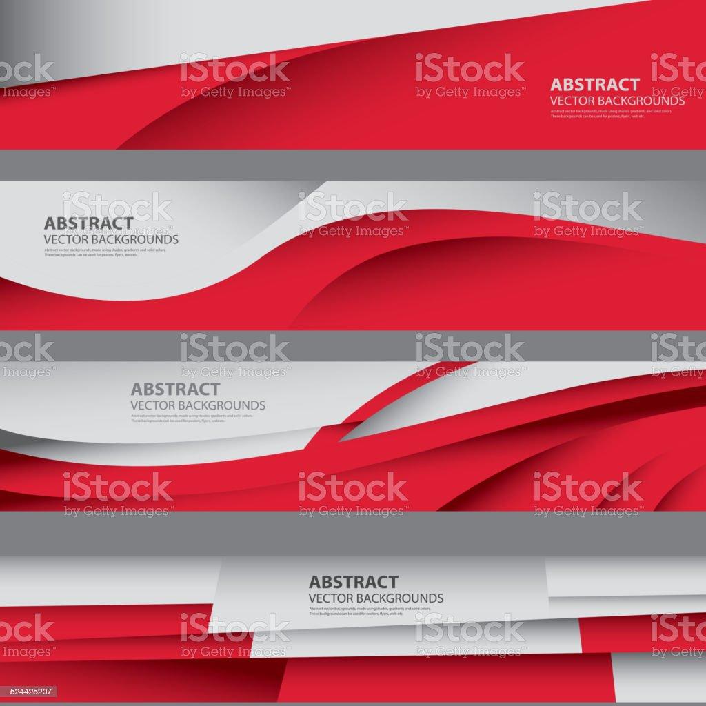 Abstract Polish Flag, Poland Background Art (Vector Art) vector art illustration