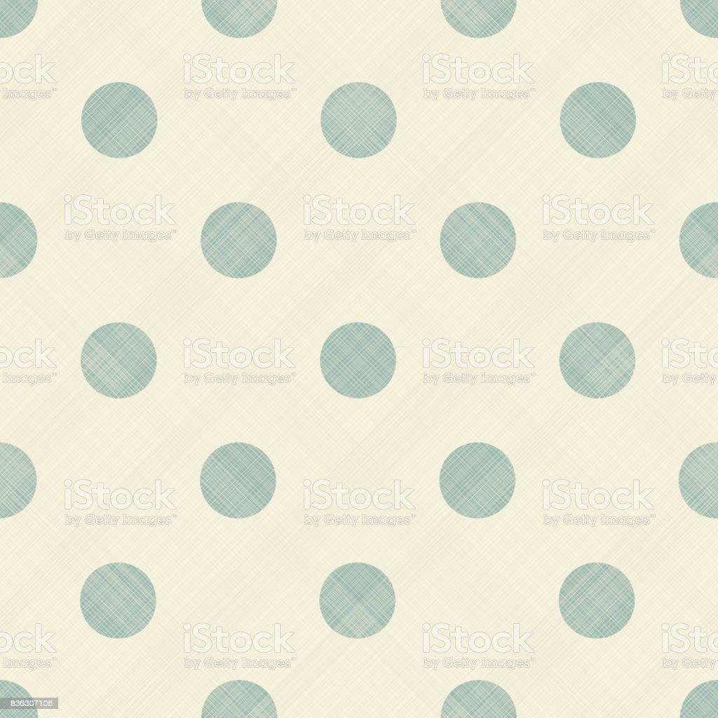 Abstract polka dots pattern background vector art illustration