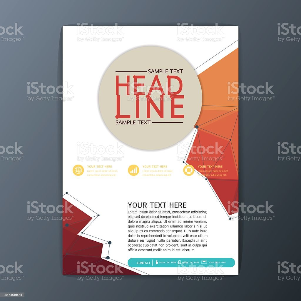 Abstract Polygon Background Design Business Brochure Cover – Sample Business Brochure