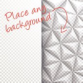 A modern geometric background for design. With space for your text and your background.