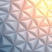 A modern geometric background can be used for design.
