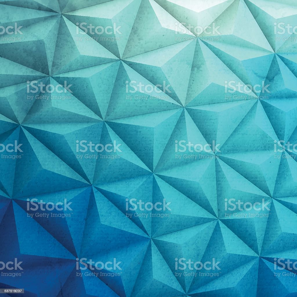 Abstract Polygonal Background for Design - Low Poly, Geometric Vector vector art illustration