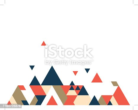 Abstract polygonal background stock illustration