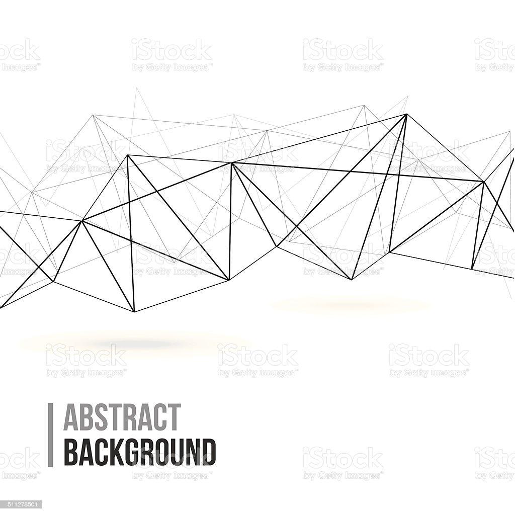 Abstract Polygonal Background vector art illustration